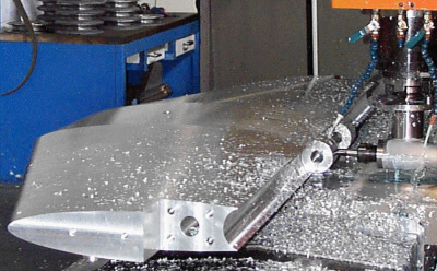 Foil-machining